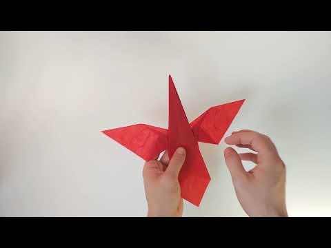 #NationalBird Day Origami Tutorial