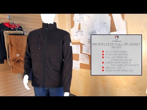 MicroFleece Full Zip Jacket M735T Product Video