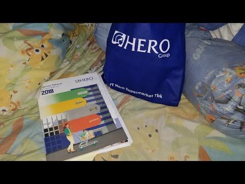 Souvenir / Isi GoodieBag RUPS / Rapat Umum Pemegang Saham PT Hero Supermarker Tbk / HERO - 17May2019