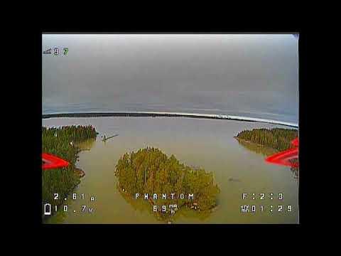 Winter island fun, flying over water #2 - GEPRC Phantom (2020 #23)