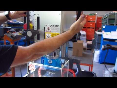 Gwinciarka SERRMAC MDR22 - gwintowanie na zdalną głębokość - zdjęcie