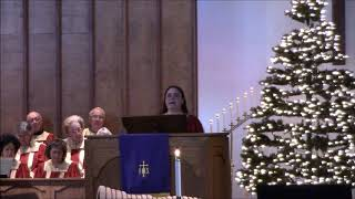 "First Advent of HOPE; ""The Burden of Advent""; Scripture Reading: Isaiah 9:1-6; Niki Higdon"