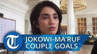 Ditanya Soal Jokowi-Ma'ruf, Ussy Sulistiawaty: Couple Goals