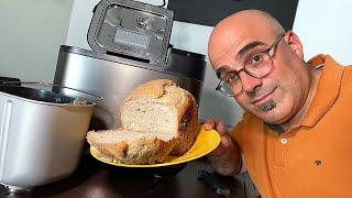 Brotbackautomat Panasonic SD-YR2550 im Test: Wie einfach geht selber Brot backen mit dem Automaten?