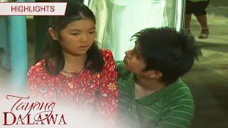Junior sympathizes with Audrey's sadness   Tayong Dalawa