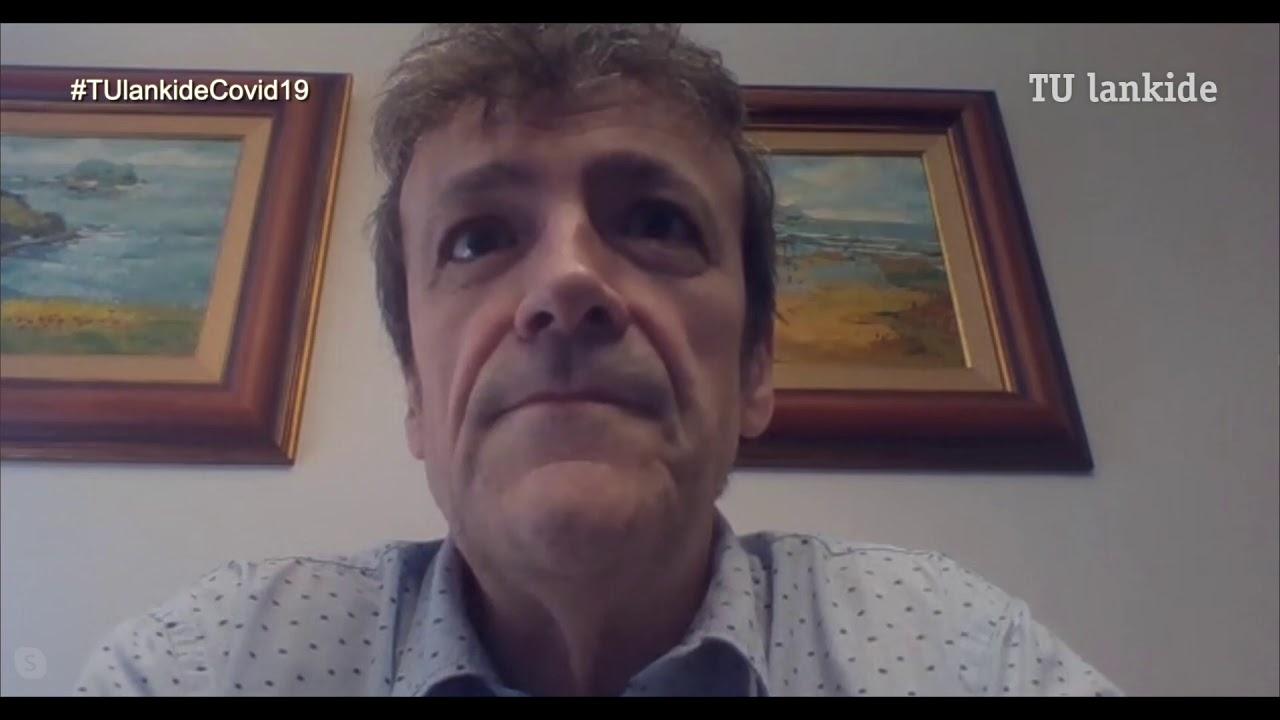 """""""Suministraremos 5.000 fuentes de alimentación para respiradores"""" Mikel Trojaola, gerente de Fagor Electrónica"""