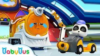 ★NEW★ SLマンが動かないよ! | 修理屋さんごっこ | 赤ちゃんが喜ぶアニメ | 動画 | BabyBus
