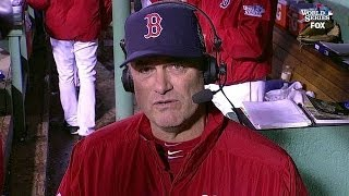 WS2013 Gm6: Farrell on Victorino's clutch hit