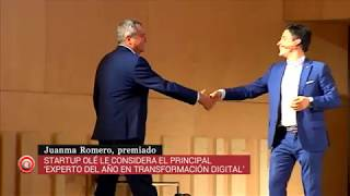 Juanma Romero, experto del año en la transformación digital. EMISIÓN EMPRENDE