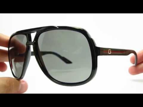 Gucci GG 1622/S D28R6 Black Sunglasses | Close Look