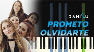 Prometo Olvidarte | Ventino | Piano Tutorial