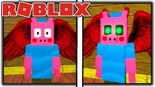 How To Get YOU MET THE CREATOR Badge In Roblox Piggy RP [W.I.P]