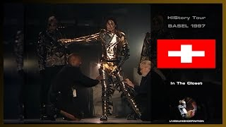 Michael Jackson Live In Basel 1997: In The Closet - HIStory Tour