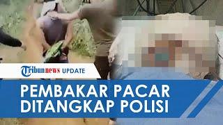 Detik-detik Pria yang Bakar Indah Gadis Cianjur Ditangkap Polisi, Tangan Ditali Wajah Ditutup Kain