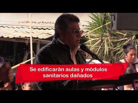 Avanzamos en rehabilitación de escuelas chimalhuacanas