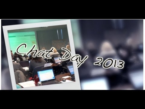 2013 National Drug Facts Week, Chat Day