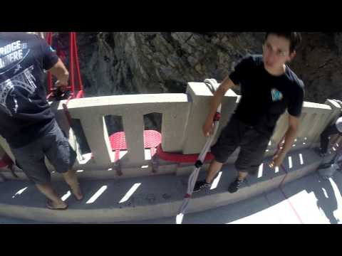 first time bungee jumping