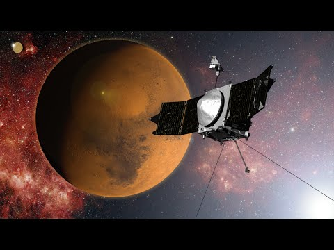 After 10 Months In Space, NASA's MAVEN Is Preparing To Enter Orbit Around Mars