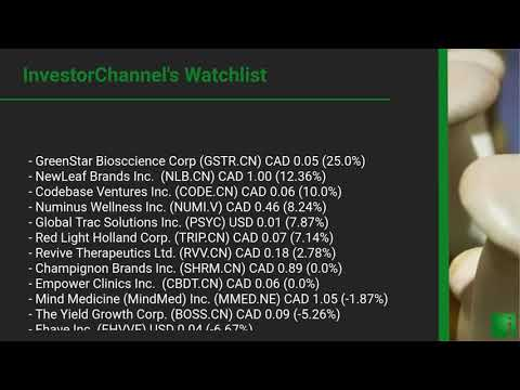 InvestorChannel's Psychedelics Watchlist Update for Thursd ... Thumbnail