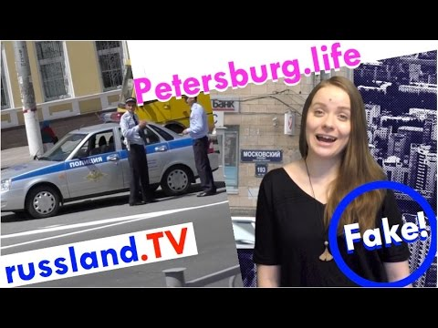 Russland: Fake-Polizei im Einsatz! [Video]