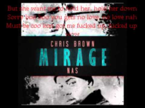 chris brown mirage lyrics