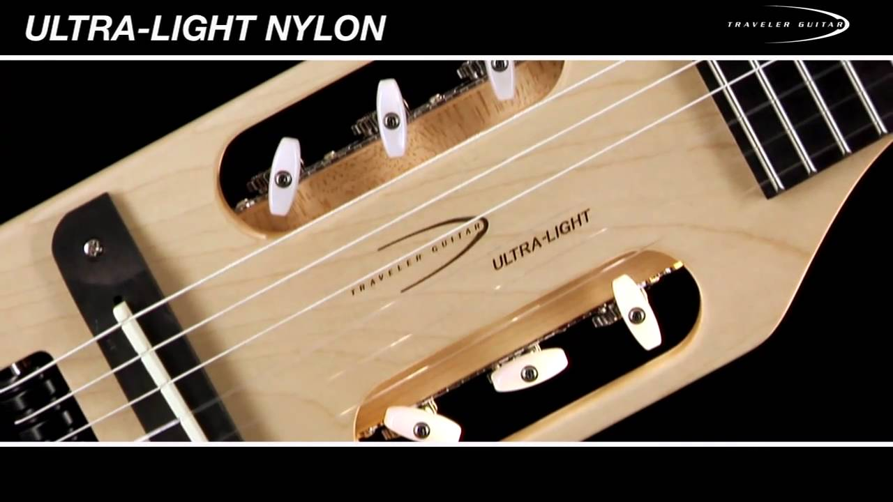 Traveler Guitar Ultra-Light Nylon Guitar Overview and Demo