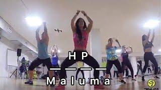 """ZUMBA® Fitness""""HP"""" Maluma, Coreografía Cloe González"""
