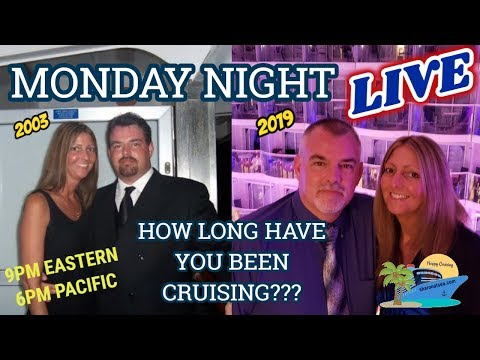 SHARON AT SEA | MONDAY NIGHT LIVE | LIVE CRUISE CHAT!!!