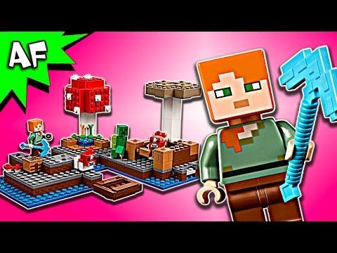Vidéo LEGO Minecraft 21129 : Le biome champignon