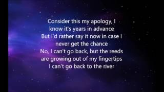 RIVER LEA lyric video