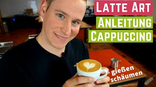 Cappuccino Zubereiten – Latte Art Und Milch Schäumen | Tutorial Teil 1