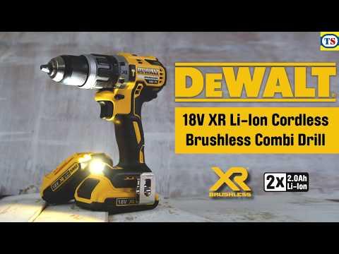 DeWalt DCD796D2-GB 18V XR Li-Ion Cordless Brushless Combi Drill