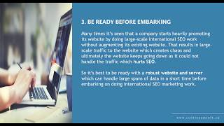 International SEO Tips    Continuum Software Solutions - Website Design, Mobile Apps and SEO