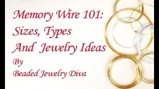 Memory Wire Jewelry Ideas - Memory Wire Bracelets And More!