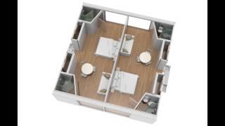 Ten Fold Hotel Interior
