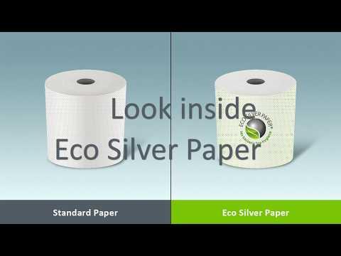 Eco Silver Paper: Το πρώτο χαρτί με ενεργή, αντιμικροβιακή δράση