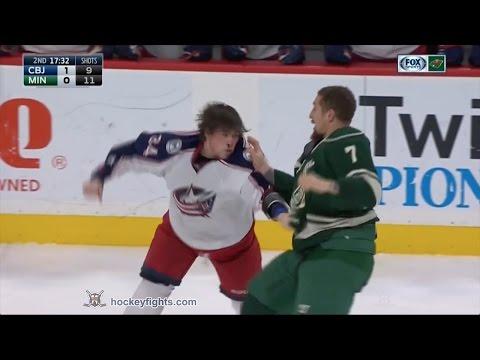 Josh Anderson vs Chris Stewart