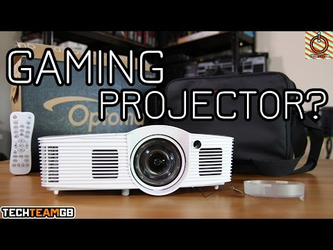 1080p Gaming Projector?? | Optoma GT1080e Review