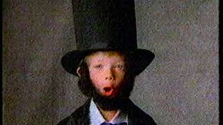 1988 - Young Abe Lincoln Wannabes