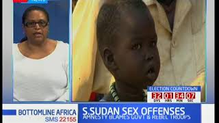 Bottomline Africa: S.Sudan sex offenses