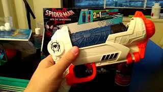 Spider-Man: Into the Spider-Verse Spider-Noir Web Blaster, Web Gun, Water Gun