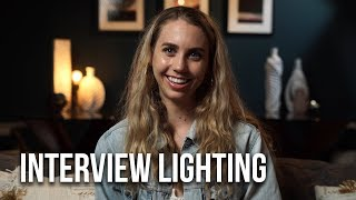 How to Light an Interview | 5 Quick Easy Setups