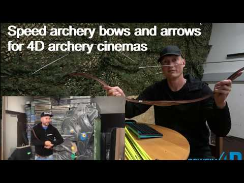 Speed archery, arrows and events