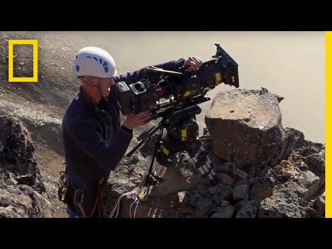Video trailer för Filming Barnacle Geese: On Location | Hostile Planet