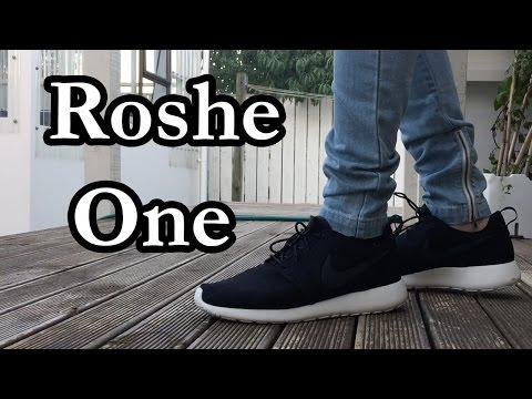 Nike Roshe One (Black & White) On Feet Look