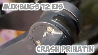 MJX Bugs 12 EIS terbang lagi setelah crash.