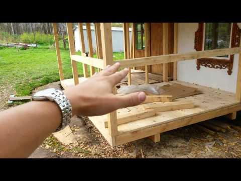 Построить веранду своими руками