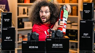 "CANON EOS R5 / R6 UNBOXING: Will It FAIL This ""IMPORTANT"" TEST?"