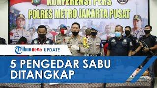 Lima Pengedar Sabu Seberat 8,5 Kg di Depok dan Ciputat Ditangkap