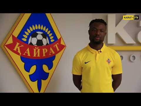 New Club: Gideon Baah's interview after completing move to FC Kairat